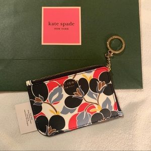 NWT Kate Spade   L-Shape Keychain Wallet